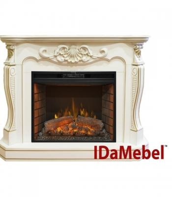 Электрокамин с порталом ROYAL FLAME IdaMebel Laura (для Goodfire 26) (каминокомплект)