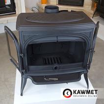 Печь камин чугунная KAWMET Premium S7 (11,3 kW). Фото 15