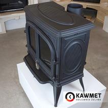 Печь камин чугунная KAWMET Premium S7 (11,3 kW). Фото 12