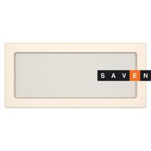 Вентиляционная решетка для камина SAVEN 17х37 кремовая