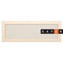Вентиляционная решетка для камина SAVEN 17х49 кремовая
