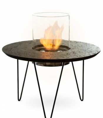Биокамин столик Planika Fire Table Round