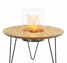 Биокамин столик Planika Fire Table Round. Фото 2