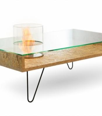 Биокамин столик Planika Fire Coffee Table OSB