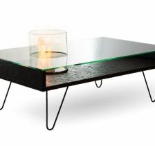 Биокамин столик Planika Fire Coffee Table OSB. Фото 2
