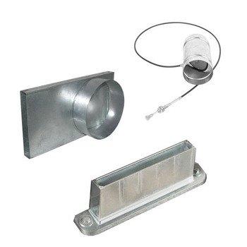 Комплект подачи воздуха для топок с переходником Ø125