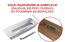 Горелка для биокамина длинная. Фото 4