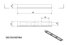 Стекло для биокамина DELTA 3 (комплект стекло и подставка). Фото 4