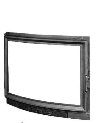 Дверцы для камина KAWMET W10 570x690