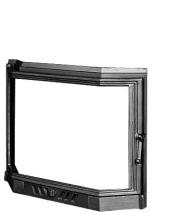 Дверцы для камина KAWMET W5 560x690