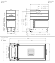 Каминная топка SPARTHERM Arte U-90h. Фото 3