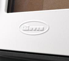 Чугунная печь Dovre BRUT E12 белая. Фото 4