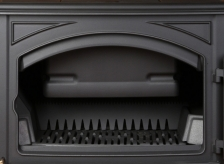 Печь камин чугунная (мультипечь) DOVRE 760 GM бежевая. Фото 13