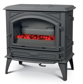 Печь камин чугунная DOVRE 760 GK на углях