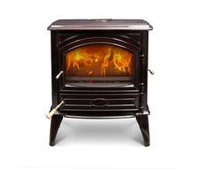 Печь камин чугунная DOVRE 640 CB коричневая майолика. Фото 3