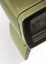 Печь камин чугунная DOVRE Vintage 35 TB оливковая зеленая. Фото 6