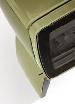 Печь камин чугунная DOVRE Vintage 35 TB оливковая зеленая. Фото 2