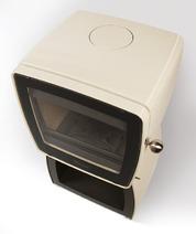 Чугунная печь Dovre Vintage 35 WB/E8 бежевая. Фото 3