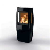 Печь камин чугунная DOVRE Sense 203 глянцевая черная. Фото 5