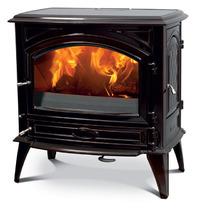Чугунная печь Dovre 760 CB/E10 глянцевый черный. Фото 4