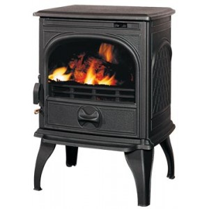 Чугунная мульти печь Dovre 250/E10 глянцевый черный