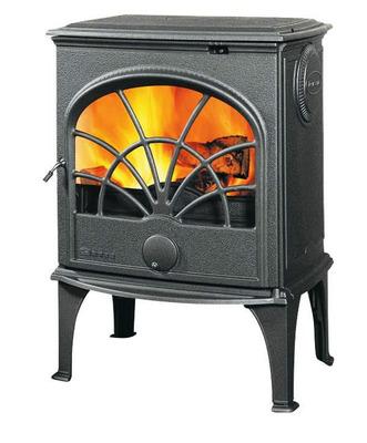 Чугунная печь Dovre 550 CB/E10 глянцивый черный