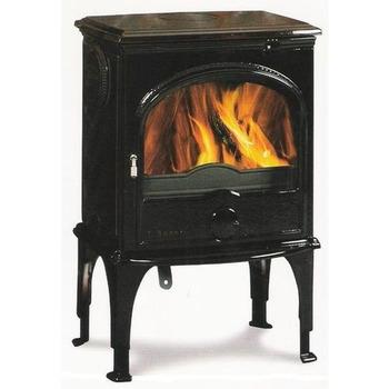 Чугунная мульти печь Dovre 555 GM/E10 глянцевый черный