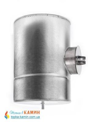 Ревизия дымоходная двустенная термоизоляционная в оцинкованном кожухе (1мм) Ø110/180
