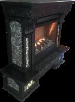 Элекрокамин с порталом Night 3D (каминокомплект). Фото 3