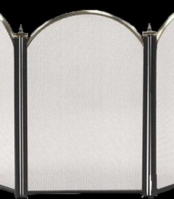 Декоративный защитный экран BonFire Черный (S03011AK)