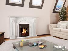 Портал для камина (облицовка) Полярис из натурального мрамора Botticino. Фото 4