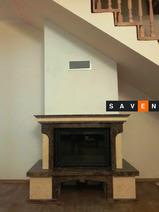 Портал для камина (облицовка) Сафо из натурального мрамора Emperador Dark,Giallo Atlantide. Фото 6