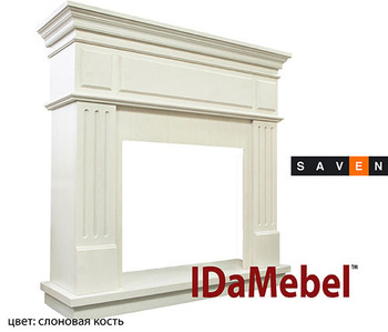 Камин портал для электрокамина DIMPLEX IDaMebel New York (портал без очага под электрокамины)