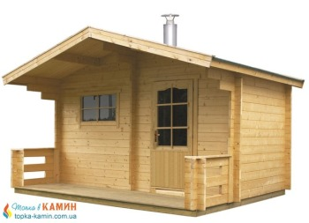 Отдельная сауна домик KEITELE с дров.каменкой Harvia 20PRO+дымоход 2000мм