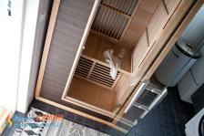 Инфракрасная кабина HARVIA RADIANT SGC0909BR одноместная. Фото 3