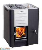 Дровяная печь для сауны (каменка) Harvia 20 RS Pro с баком для воды справа