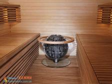 Электрическая каменка Harvia Globe GL70 для сауны и бани