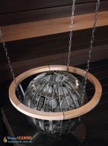Электрическая каменка Harvia Globe GL70E для сауны и бани. Фото 4