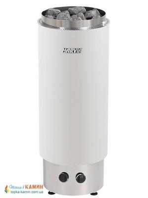 Электрическая каменка Harvia Cilindro PC 90VF white для сауны и бани