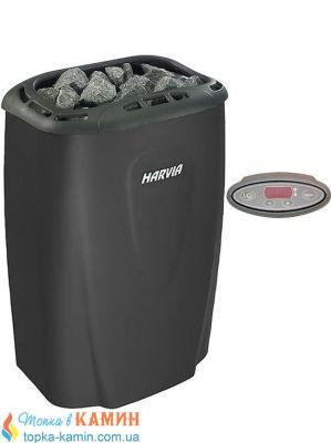 Электрическая каменка Harvia Moderna V80E black для сауны и бани