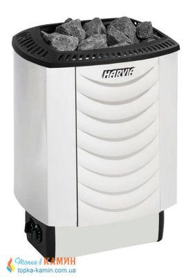 Электрическая каменка Harvia Sound M90 steel для сауны и бани