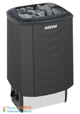 Электрическая каменка Harvia Sound M90 black для сауны и бани