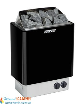 Электрическая каменка Harvia Trendi KIP45 black для сауны и бани