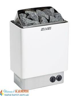 Электрическая каменка Harvia Trendi KIP80 white для сауны и бани