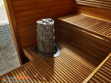 Электрическая каменка Harvia Kivi PI70E для сауны и бани. Фото 3