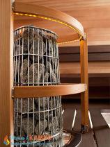 Электрическая каменка Harvia Kivi PI70E для сауны и бани. Фото 4