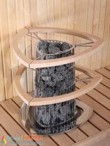 Электрическая каменка Harvia Kivi PI70E для сауны и бани. Фото 5