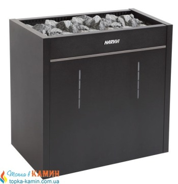 Электрическая печь (каменка)  Harvia Virta Pro Combi Automat HL160SA черная для сауны и бани