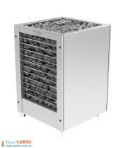 Электрическая печь (каменка)  Harvia Modulo MDS160H steel для сауны и бани. Фото 2