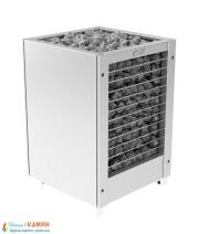 Электрическая печь (каменка)  Harvia Modulo MDS135GSA steel для сауны и бани. Фото 3